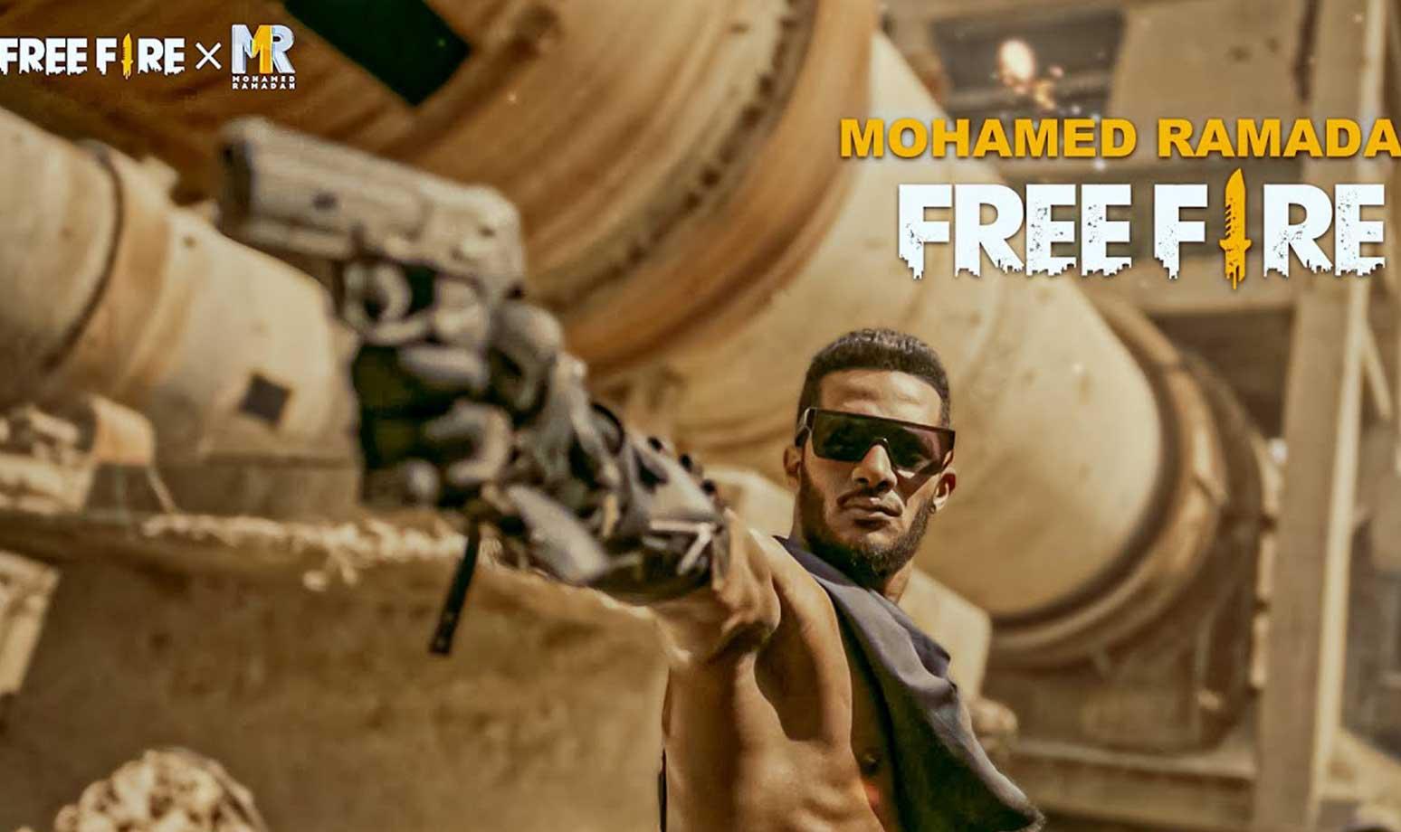 free fire x mohamed ramadan